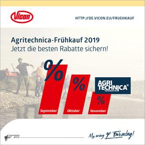 Agritechnica-Frühkauf 2019